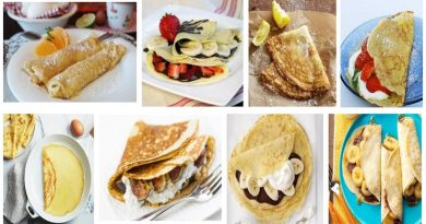 French Crepes Homemade Recipe